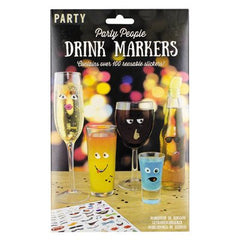 Party People Drink Markers