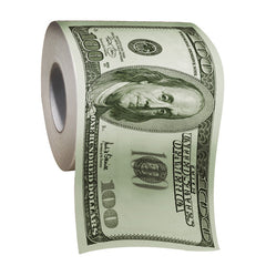 100$ Dollar Bill Toilet Paper
