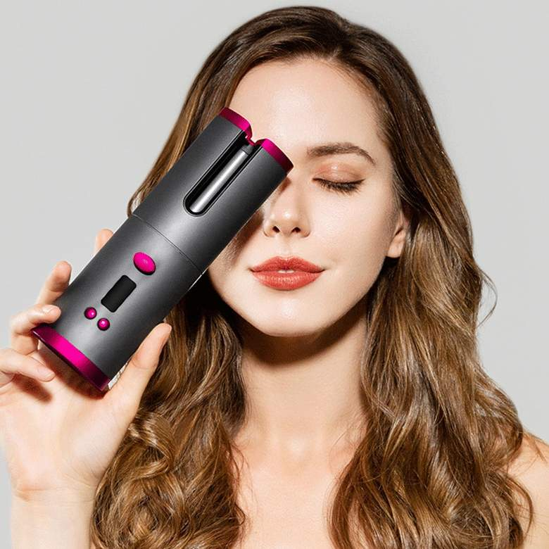 Lux Portable Cordless Hair Curler