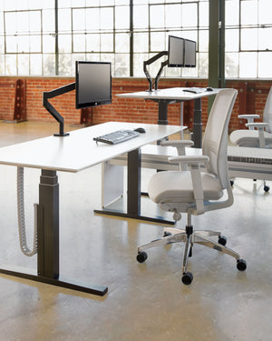 Counterbalance Height-Adjustable Table