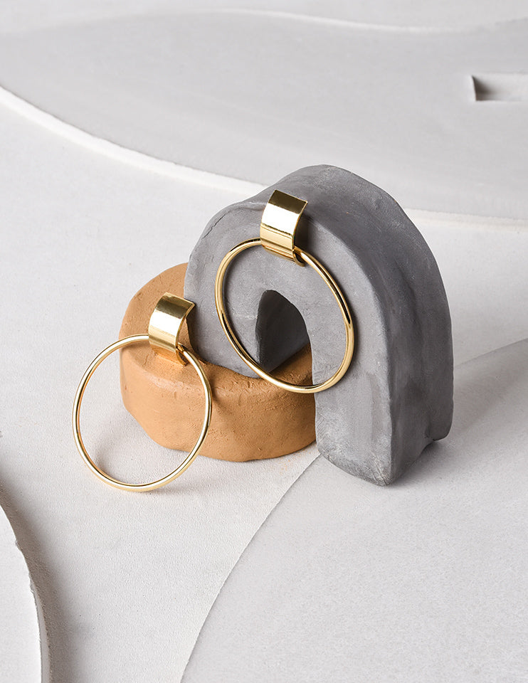 Large Curved Hoops