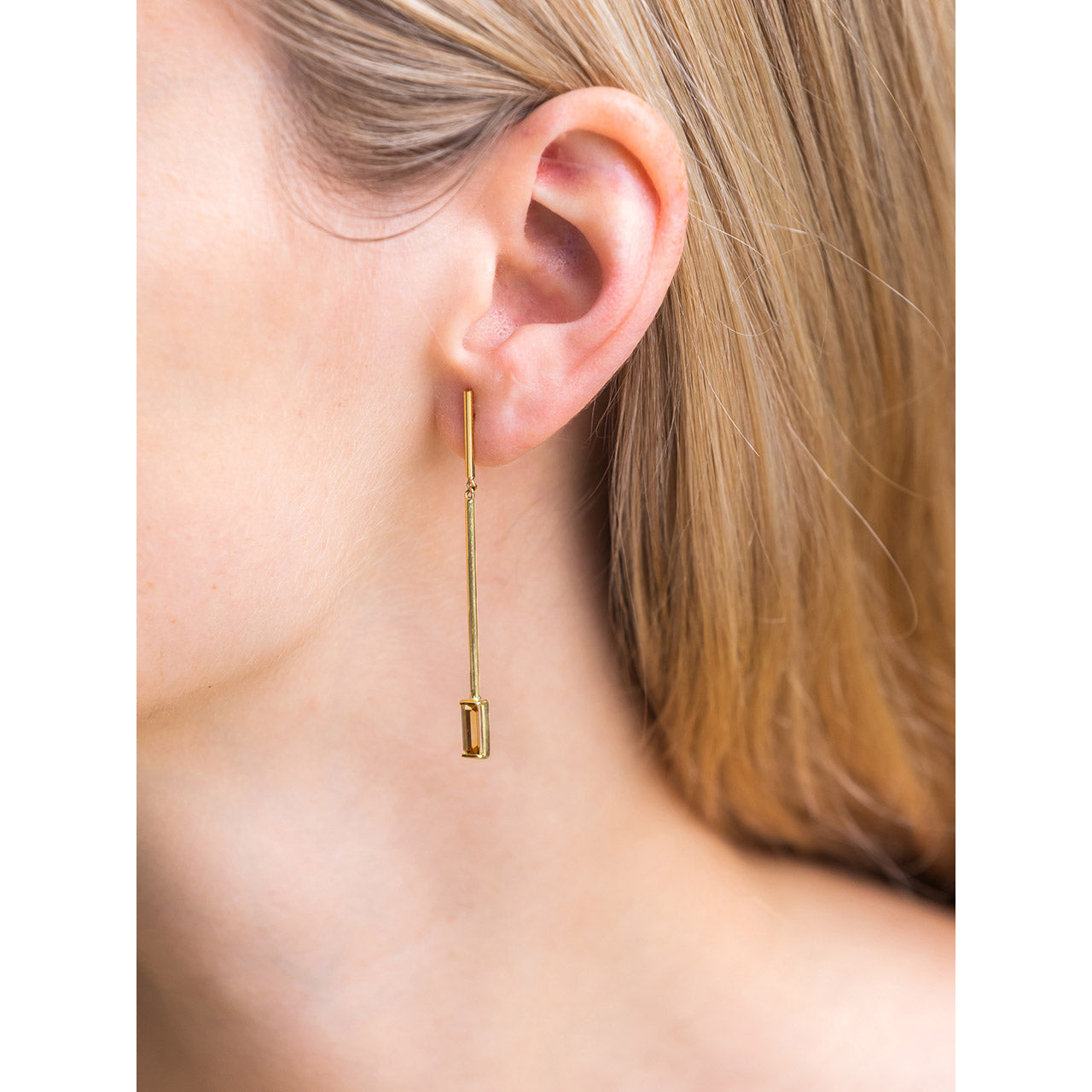 18K elina earrings