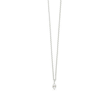 18 carat white gold noëmie necklace