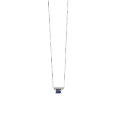 18 carat white gold nora necklace