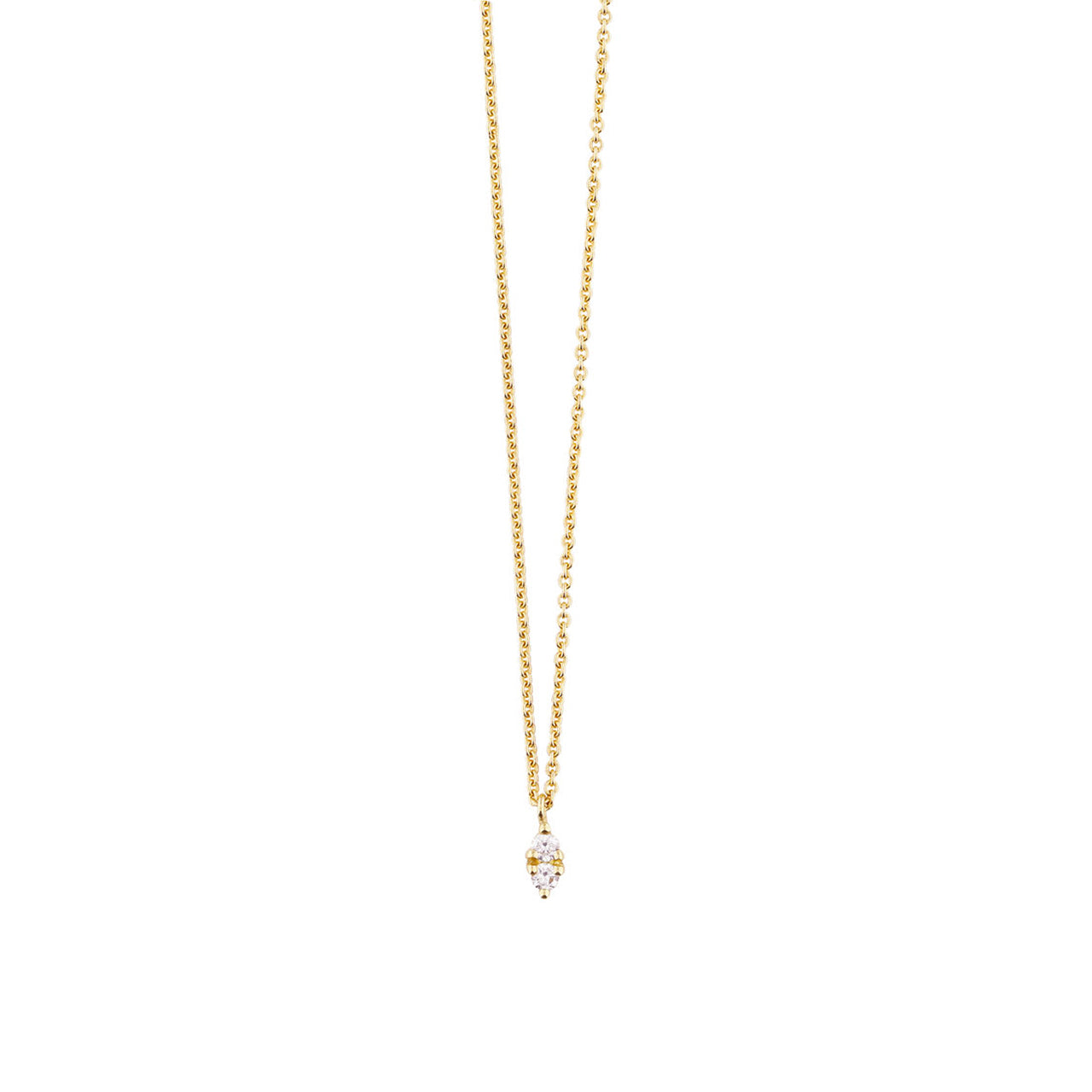 18 carat yellow gold noëmie necklace
