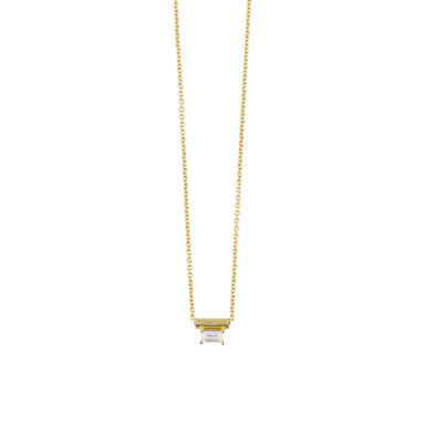 18 carat yellow gold nora necklace