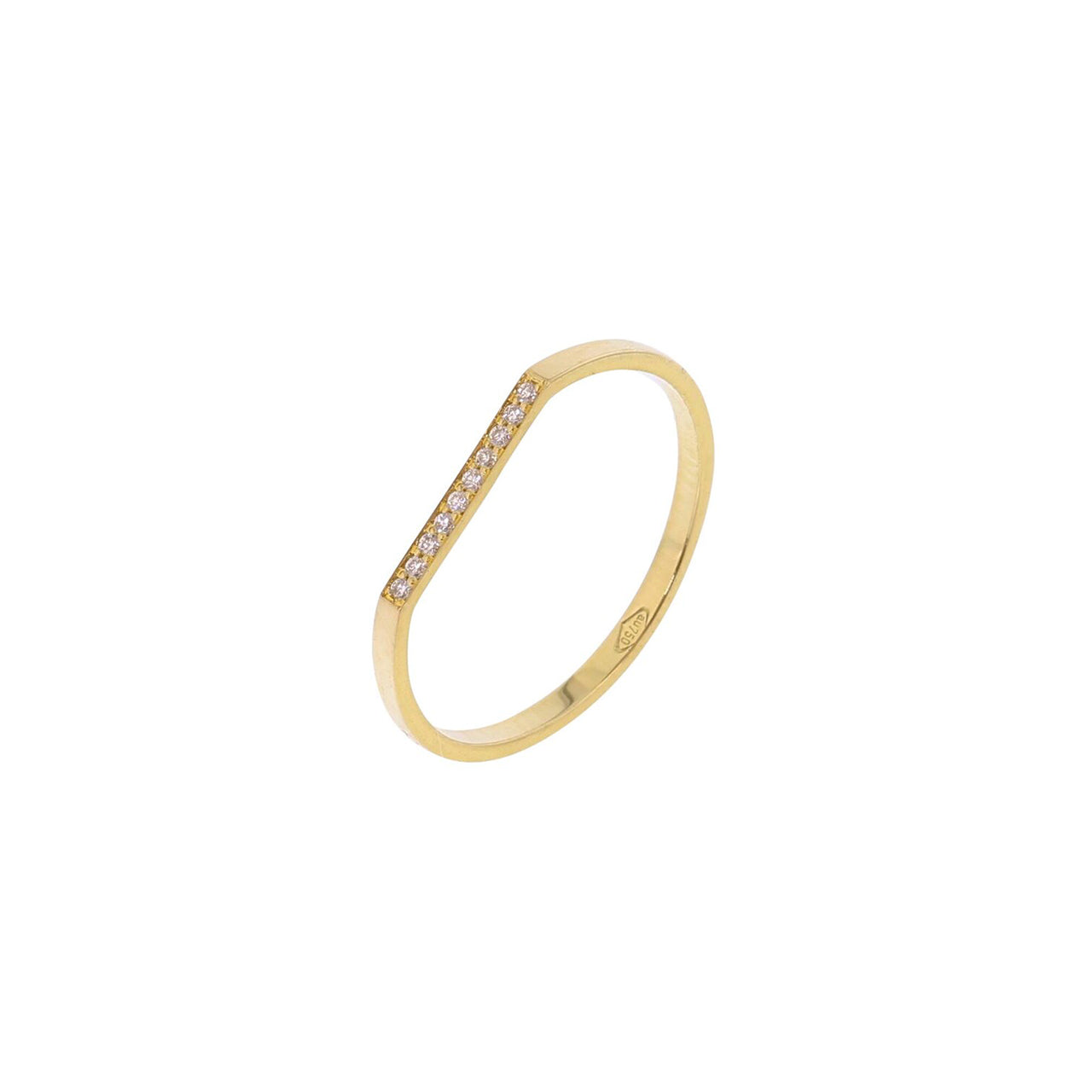 18-carat yellow gold rafaelle ring