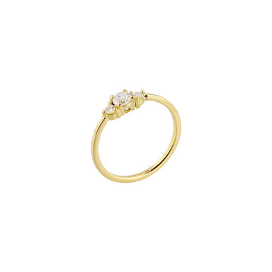 18-carat yellow gold renée ring
