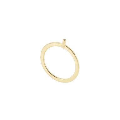 18-carat yellow gold rina ring