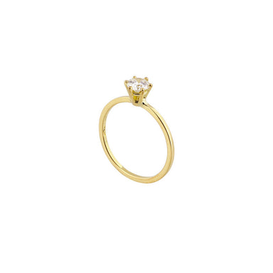 18-carat yellow gold rosalie ring
