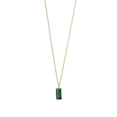 18 carat yellow gold nova necklace