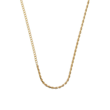 arte gold gourmet chain necklace