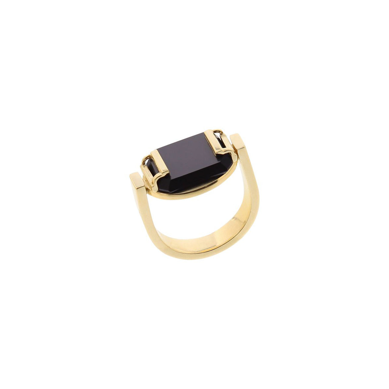 arte gold rocky ring