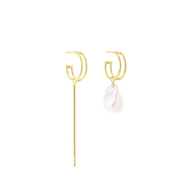 gold eleonor earrings