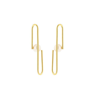 gold eloise earrings