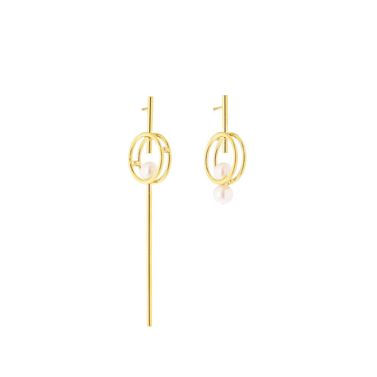 gold emma earrings