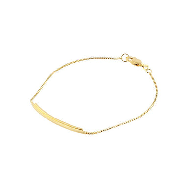 gold semi flex bracelet