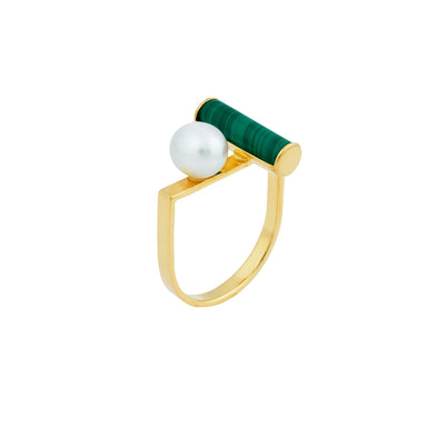 gold-u-shape-pearl-malachite-ring