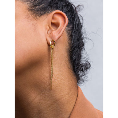 long flex post earrings