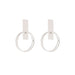 silver eliane earrings