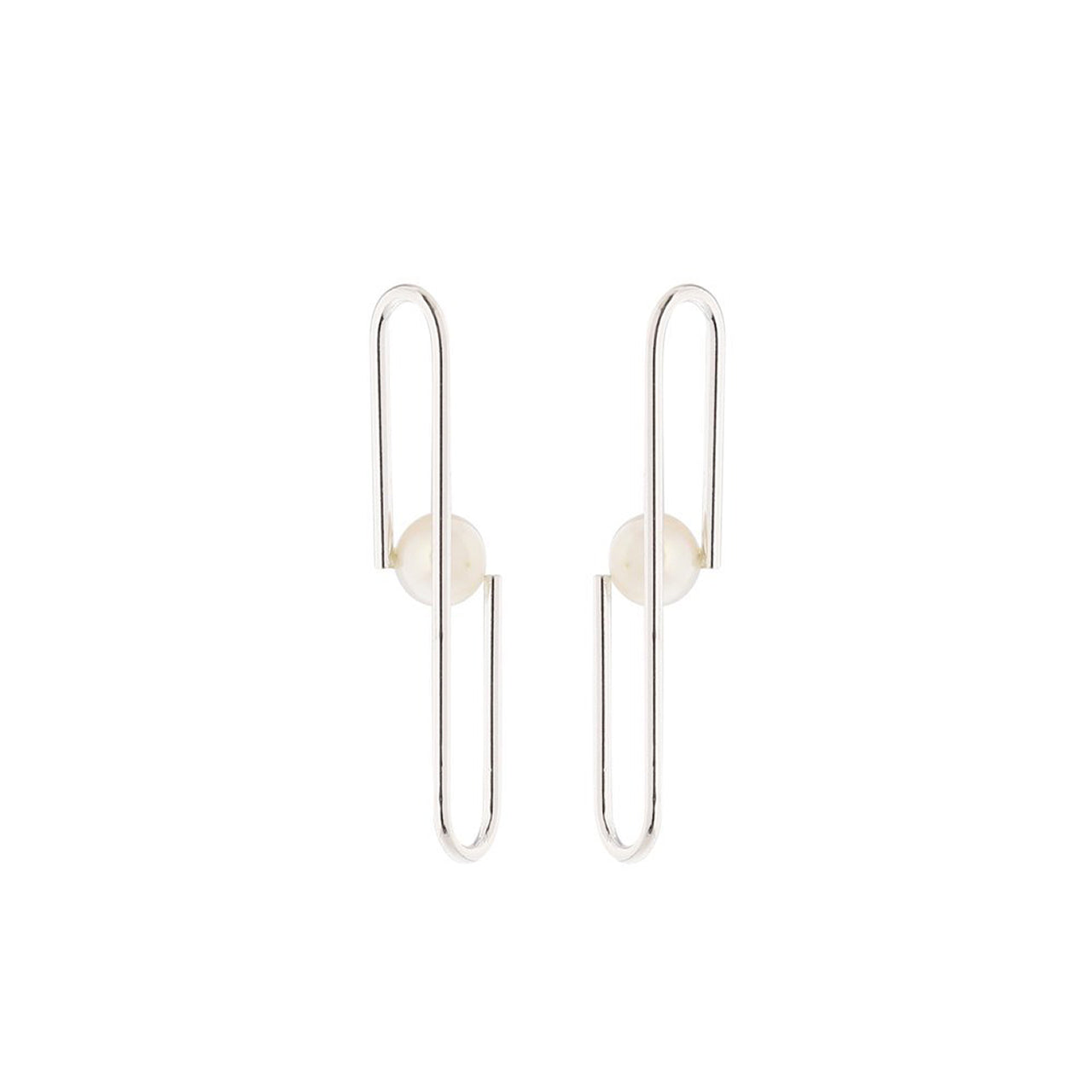 silver eloise earrings