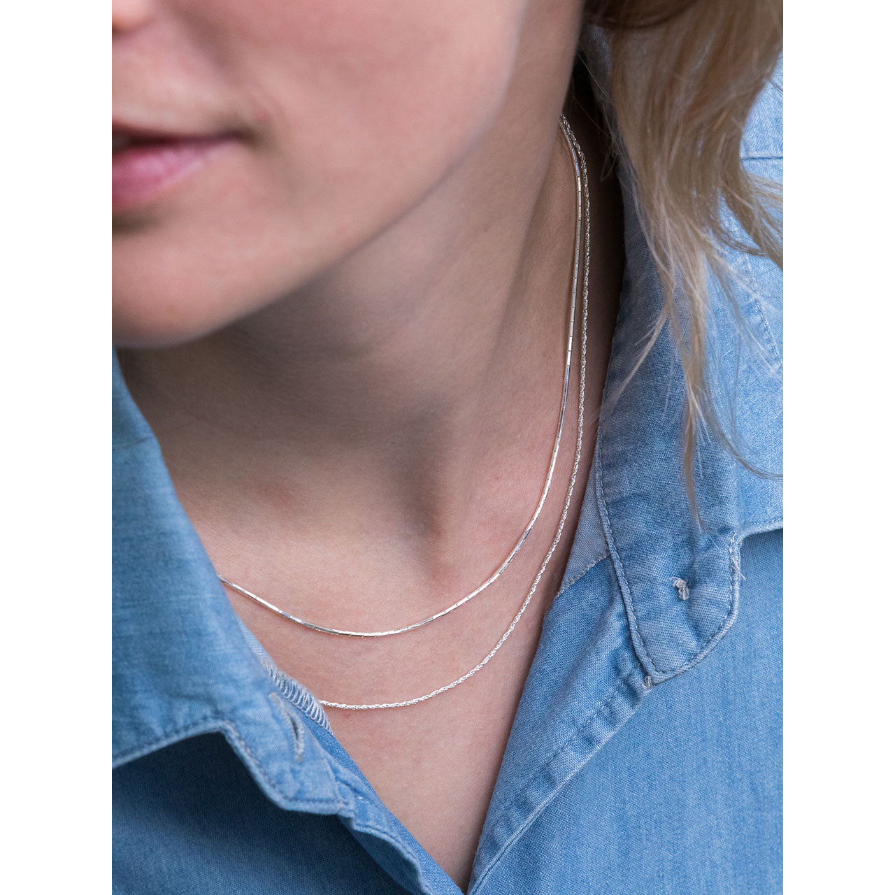 layered duo necklace