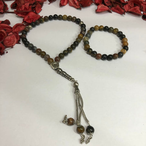 Rosary With a Bracelet Set - T05