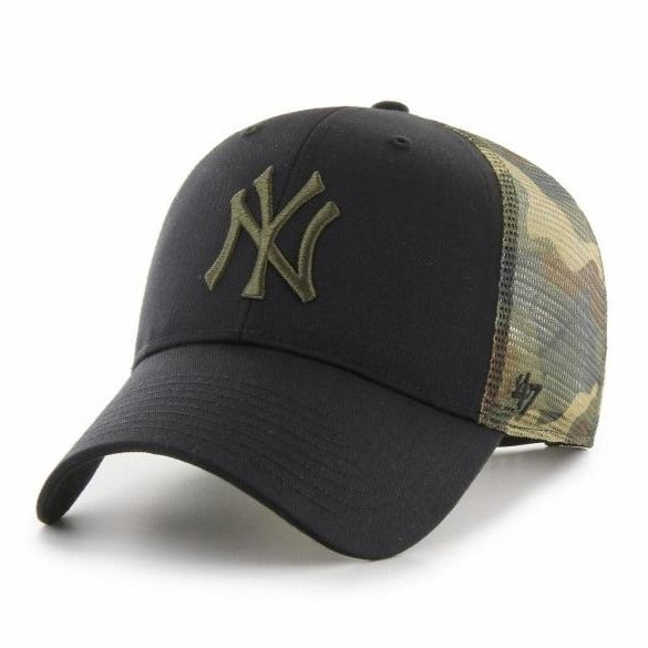 47 BRAND Gorra MLB New York Yankees Back Switch 47 MVP Black Camo
