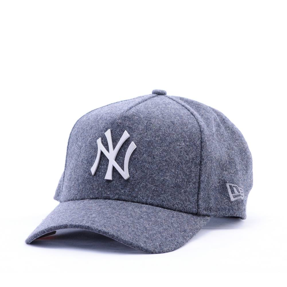 NY CAP  Trucker Melton Metal