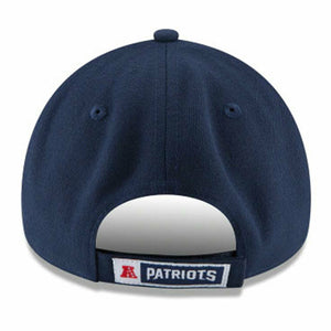 New Era X NFL Hombre Nuevo England Patriots 9Forty The League Strapback Hat Dark