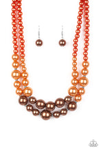 Load image into Gallery viewer, The More The Modest - Multi - Orange and Brown Pearls