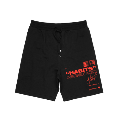Official Payton Habits Fleece Shorts