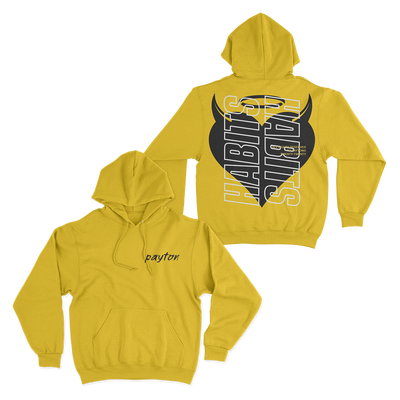 Official Payton Habits Hoodie - Yellow