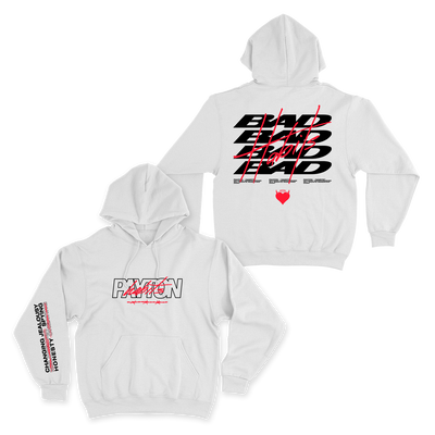 Official Payton Bad Habits Hoodie - White