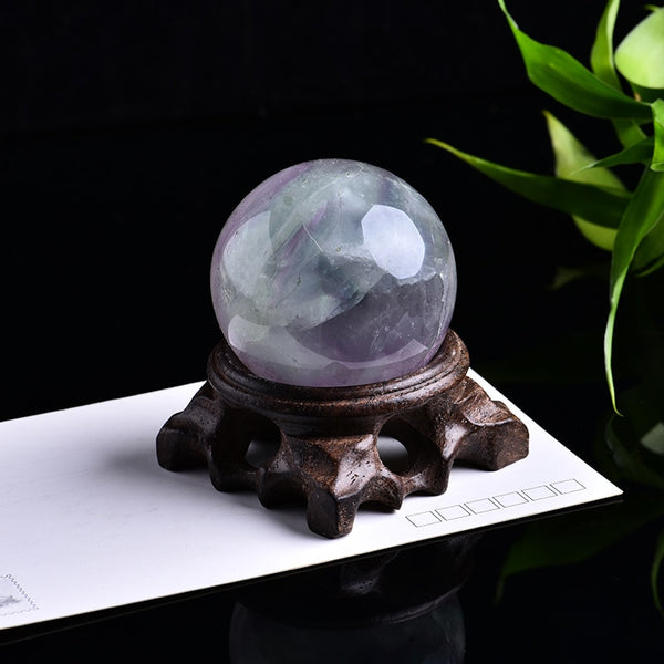 Quartz Crystal Ball for Healing, Wicca