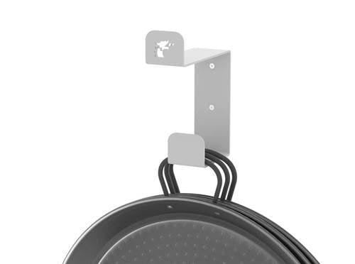 Wall-Mounted Paella Pans and Paella Gas Burner Windshield Hanger