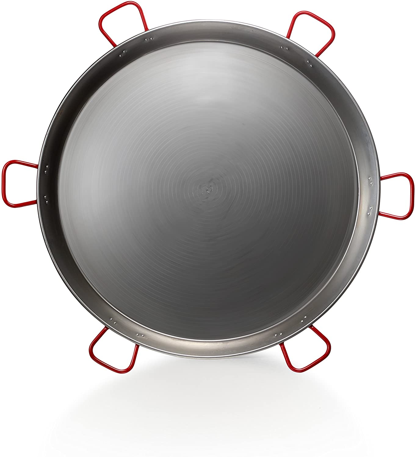Paella Pan - Polished Steel - 52 inch (130 cm) / 200 servings