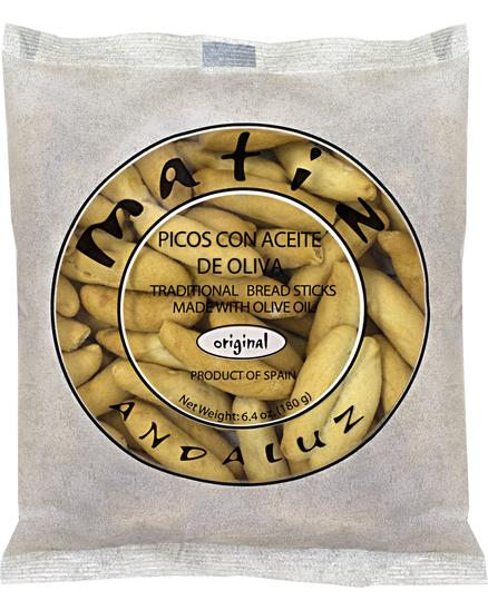 Olive Oil Breadsticks by Matiz Andaluz Picos - 6.4 oz / 180 g