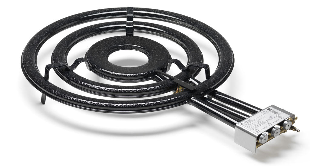 Paella Gas Burner - 3 rings - w/Reinforced Tripod- Professional Indoor - TT700