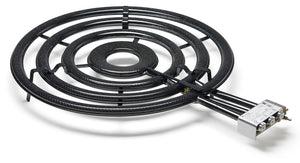 Paella Gas Burner - 4- rings - Professional Indoor - TT900 served with reinforced tripod