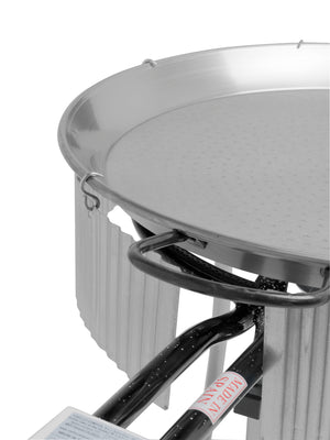Paella Gas Burner Windshield - 32 to 39 inch (80  - 100 cm)