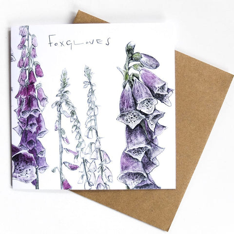 Hannah Longmuir - Foxgloves Card