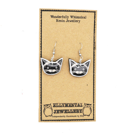 Ellymental Cat Earrings