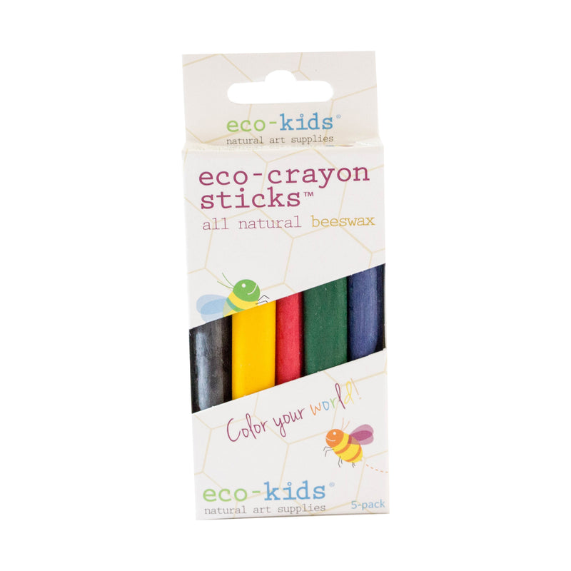 Eco-Crayon Beeswax Sticks - 10 pack