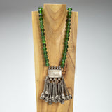 Iris Apfel Exclusive: Ornamental Glass Bead Necklace
