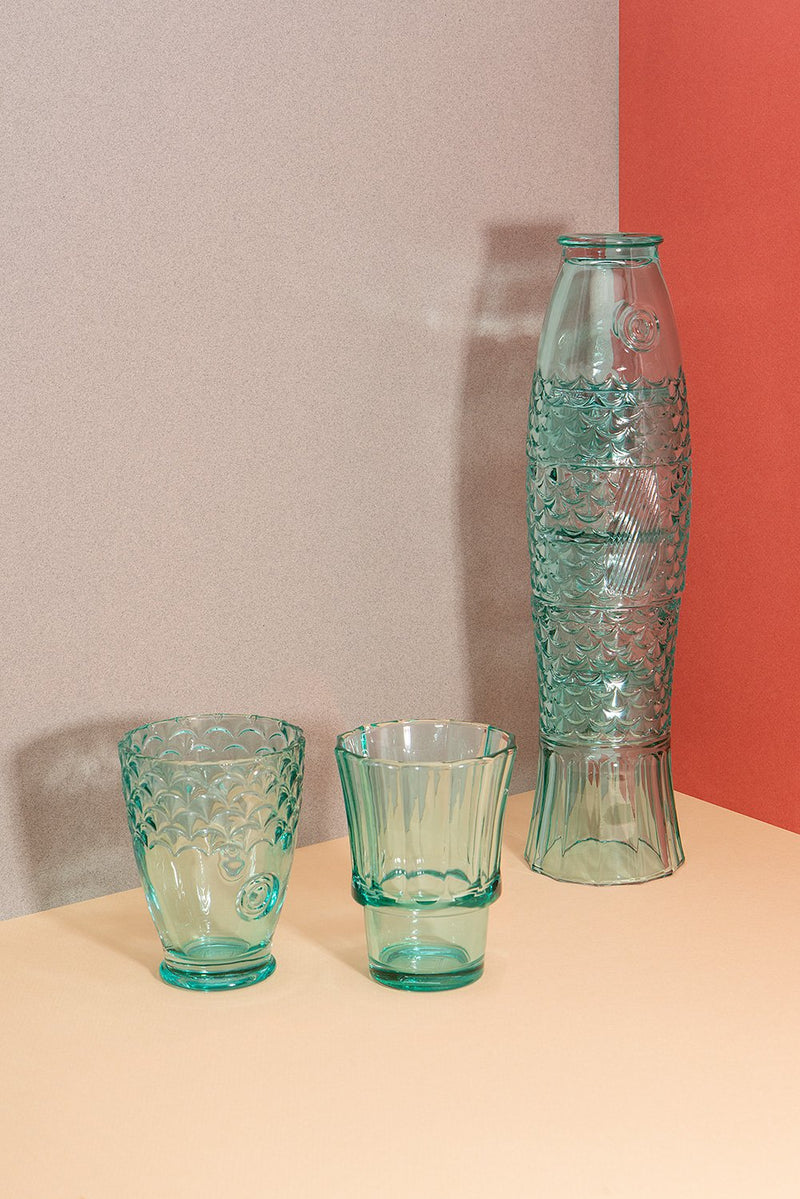Koi Stacking Glass Set - Mint