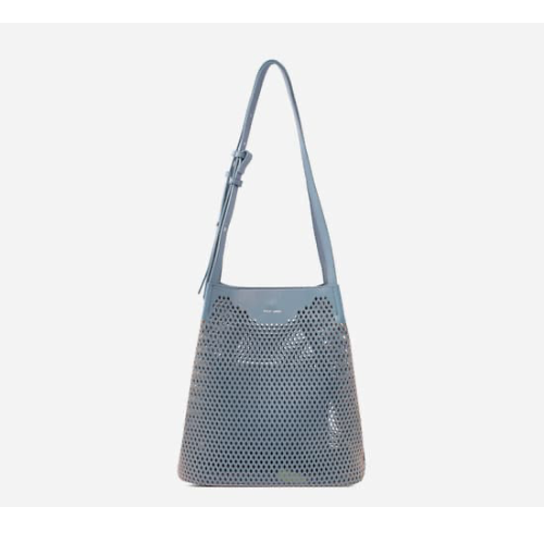 Diamond Shoulder Bag - Mineral Blue