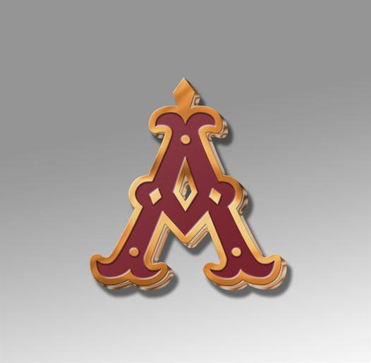 The Scarlet Letter Enamel Pin