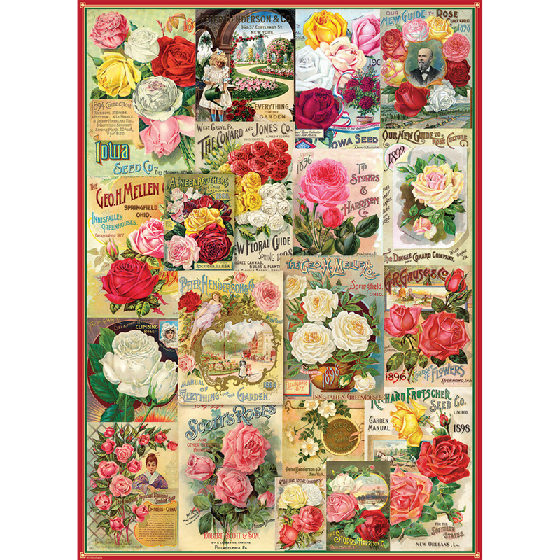 Roses Seed Catalogue - 1000 Piece Puzzle