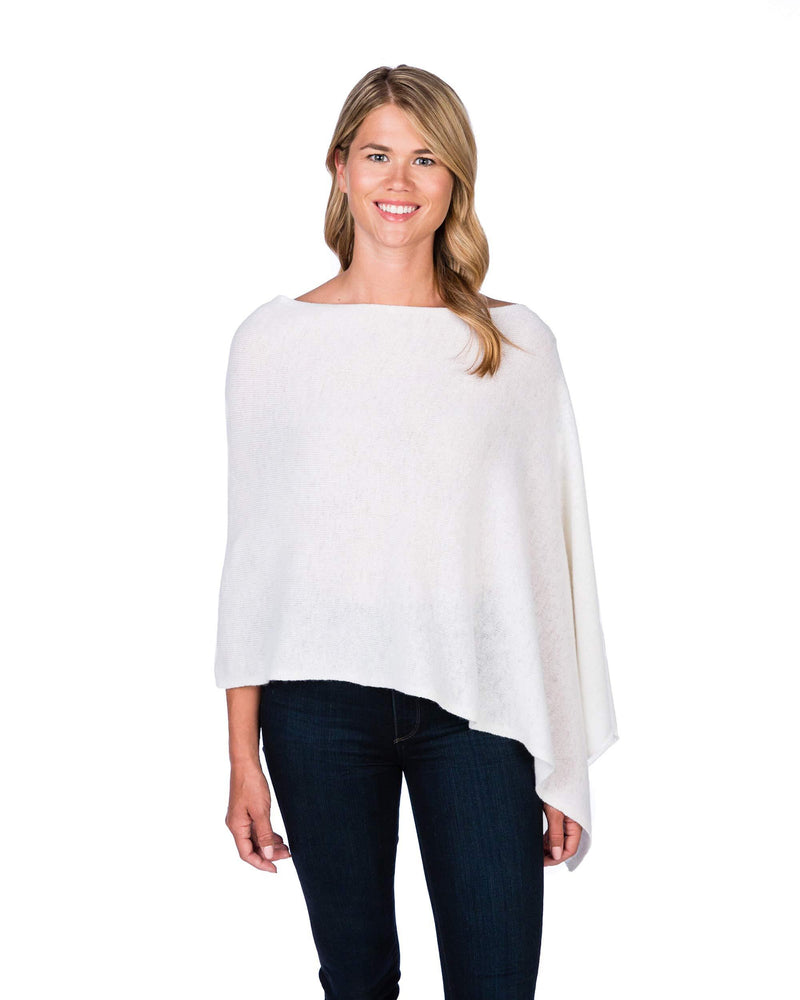 Cashmere 4-in-1 Dress Topper Poncho - Multiple Colors